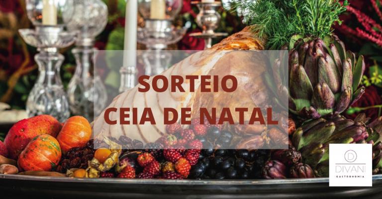 SORTEIO CEIA DE NATAL DIVANI